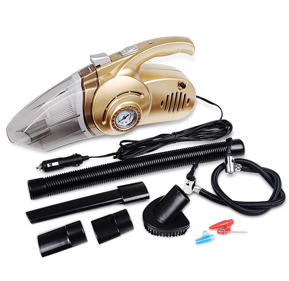 GXFC Car Vacuum Cleaner,Four-in-one High-Power Car-Specific Strong Suction Portable Vacuum Cleaner