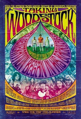 Taking Woodstock 2009 S/S Movie Poster 11x17