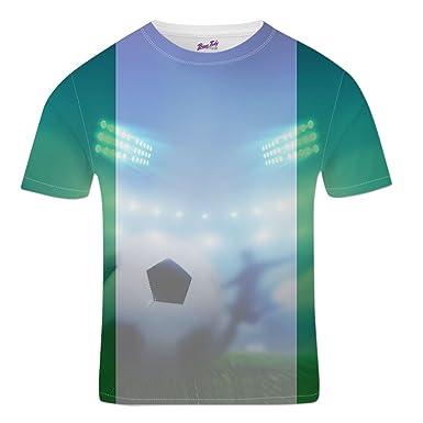 Bang Tidy Clothing Nigeria Football Shirts for Men 2018 Stadium Flag T  Shirt Fans Gift  Amazon.co.uk  Clothing ac1b8964d