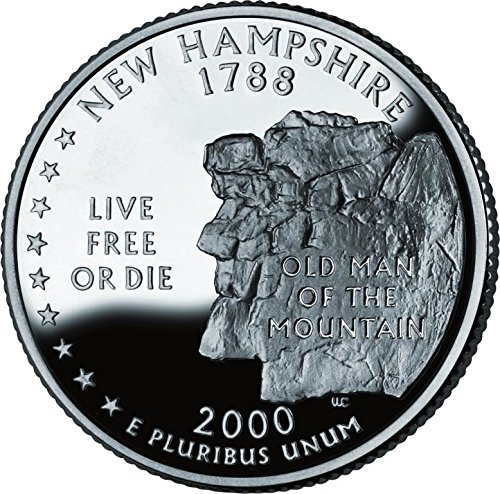 2000 New Hampshire – D State Quarter Roll