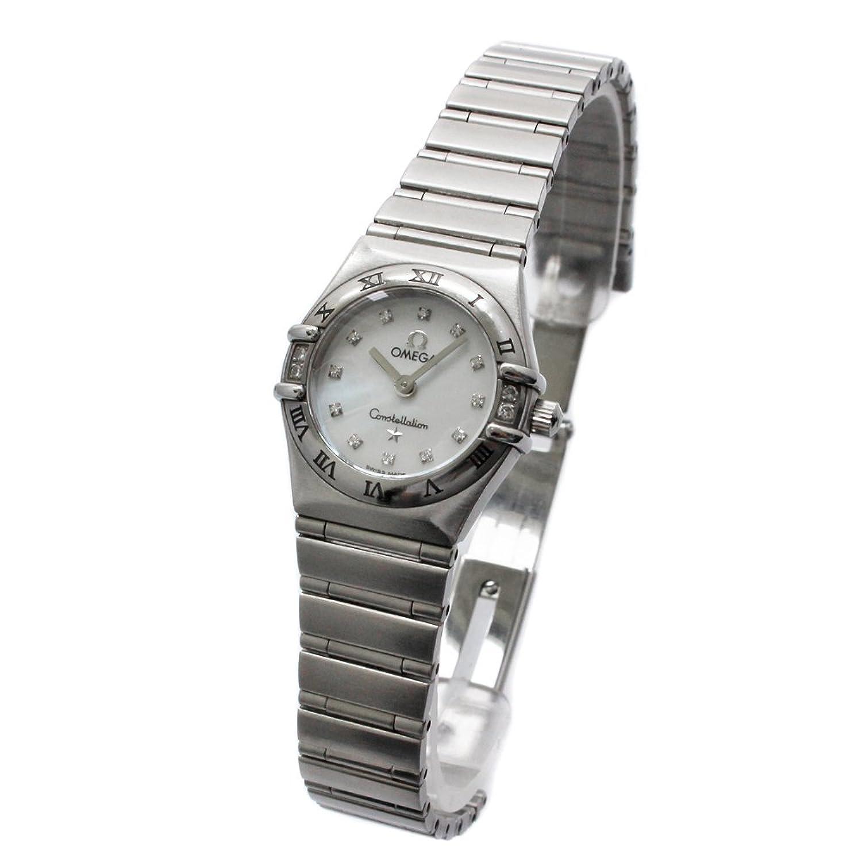 オメガ OMEGA コンステレーション 腕時計 シルバー レディース クオーツ シェル文字盤 [中古] B07CQY5HZS