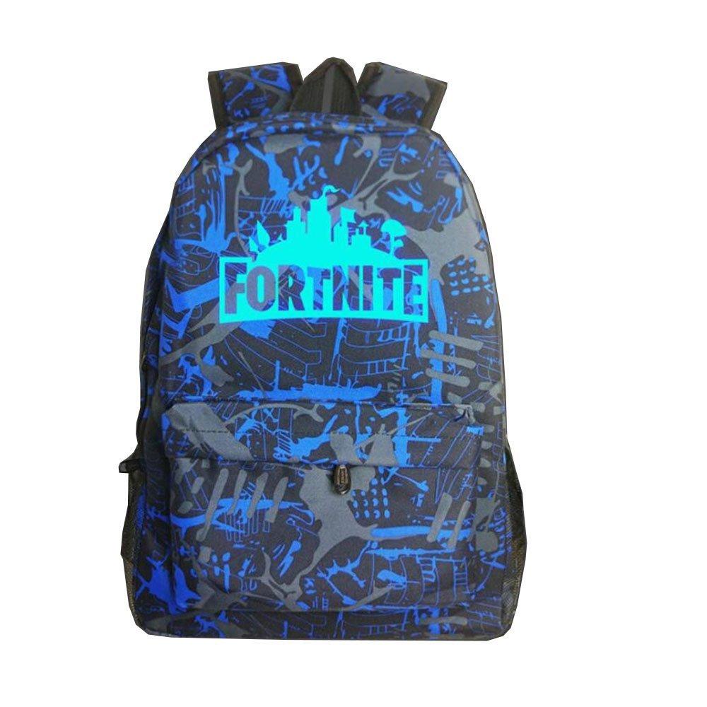 MANFIK New Luminous School Backpack College Shoulder Bag for Kids