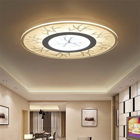 Malovecf Las luces de techo Led modernos apliques de luz ...