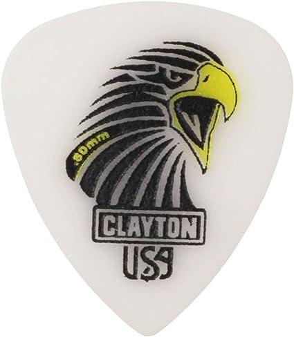 12 Clayton Acetal Polymer Pick Standard 1.26MM