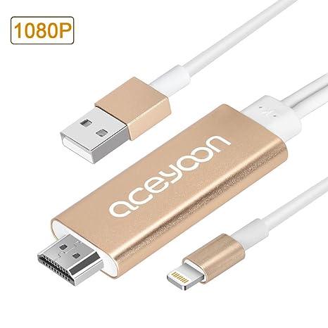 aceyoon USB C Llavero Cargador USB C a Adaptador convertidor ...