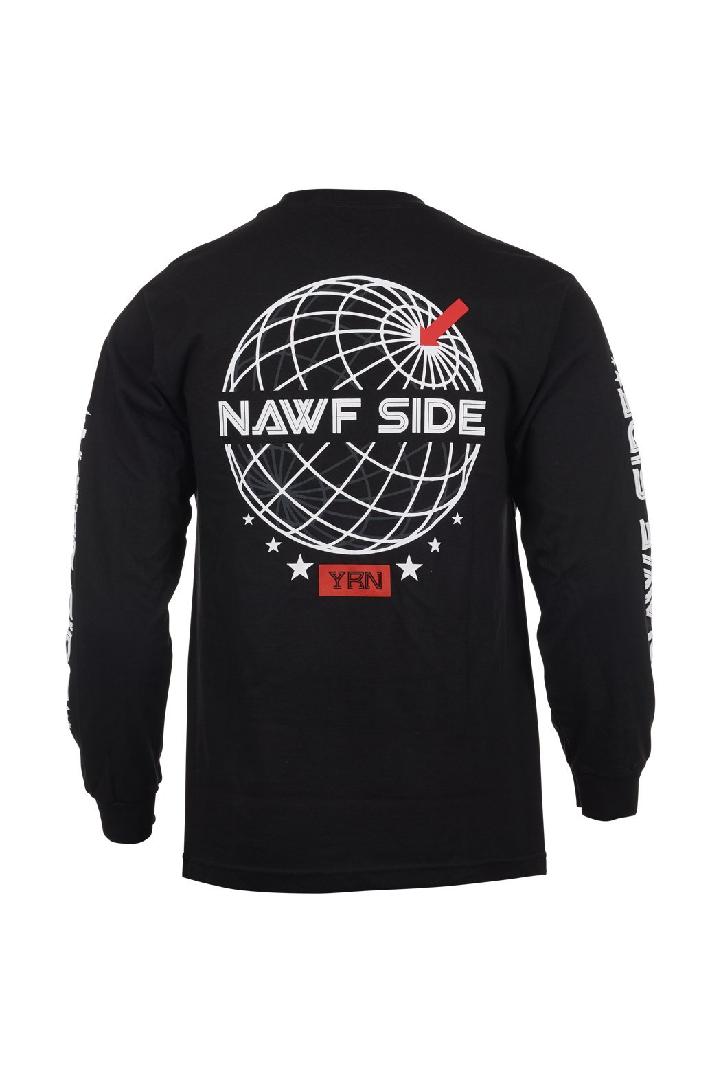 Yung Rich Nation Official Migos Clothing Brand- NAWF Side Long Sleeve Tee Shirt - Authentic by Yung Rich Nation (Image #2)