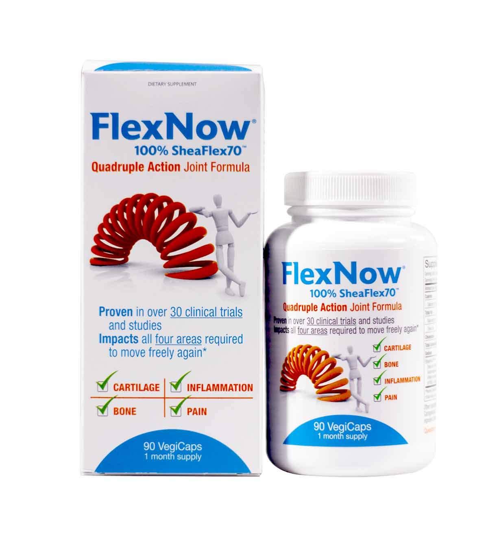 FlexNow 100% SheaFlex70 90 VegiCaps (Pack of 2)