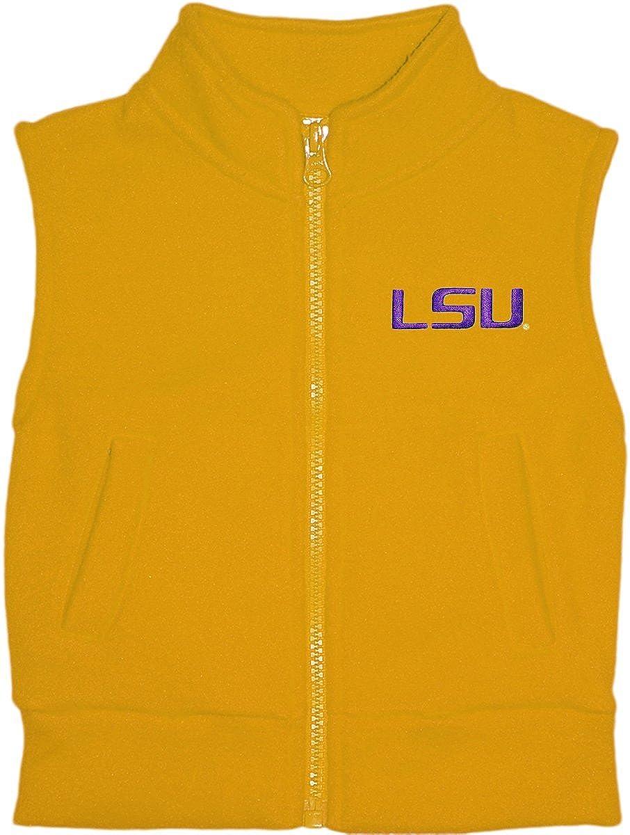 LSU Louisiana State University Baby and Toddler Polar Fleece Vest