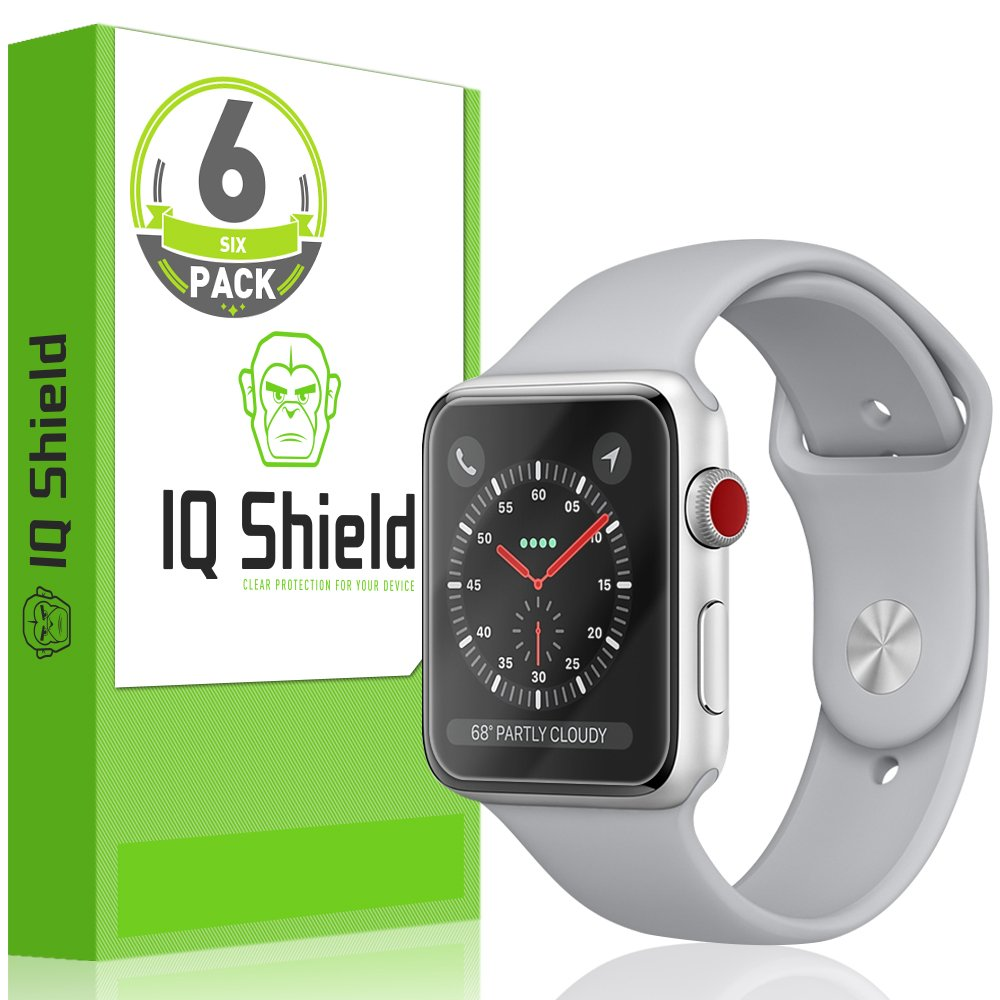 Film Protector para Apple Watch 38mm x6 IQSHIELD -7483LGRB