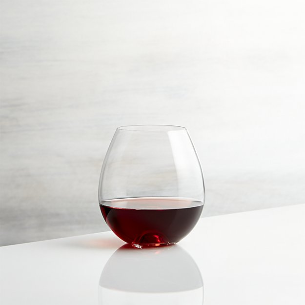 Lulie Stemless Wine Glass | Crate and Barrel