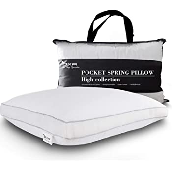Amazon Com Spring Bed Pillows Newest Breathable Neck
