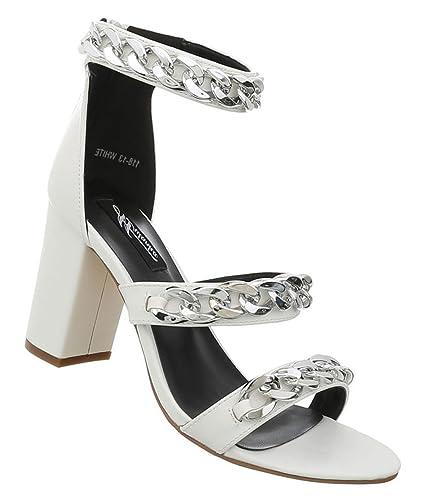 Damen Schuhe Sandaletten High Heels Pumps Stilettoabsatz Designer