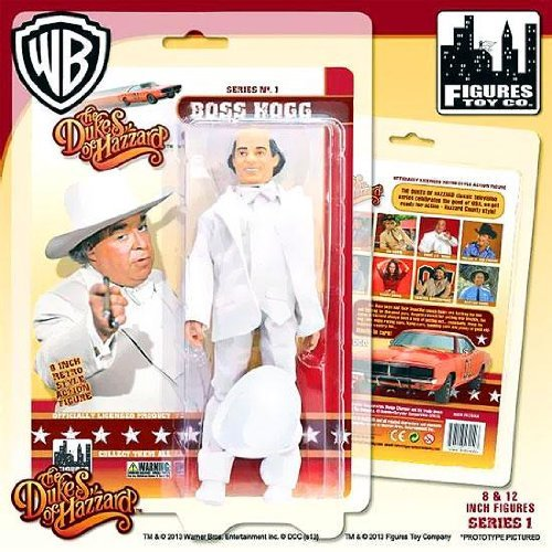 Boss Hogg Dukes of Hazzard 8 Inch Action Figure