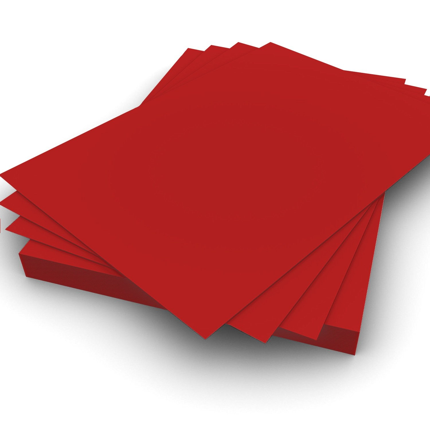 A4 90gsm Plain Red high quality smooth paper Pack of 2000 Perfect for Printing on and general office use  by Party Decor
