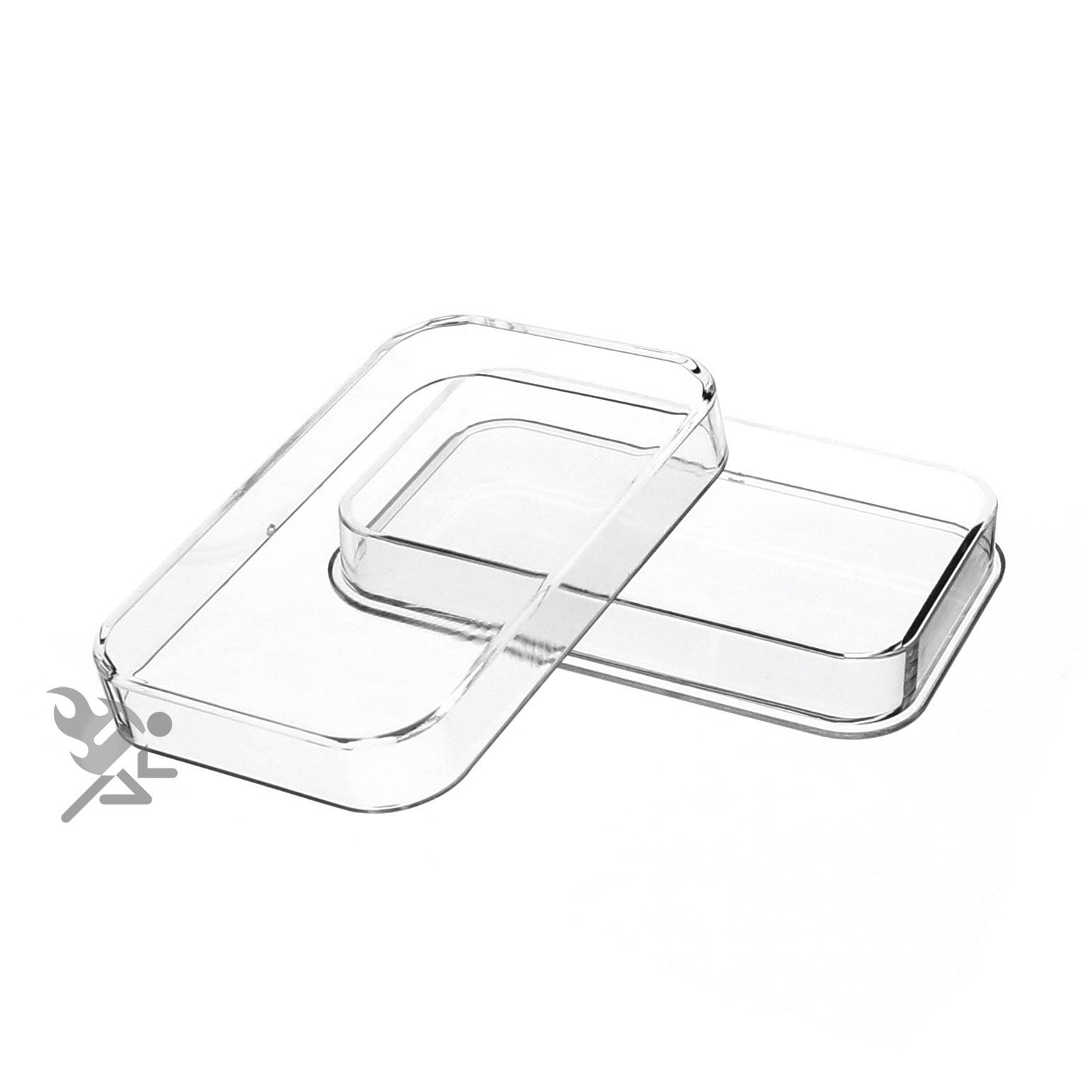 (10) Premium 5oz Silver Bar Holders by Air-Tite Brand for Scottsdale bars, Silvertowne's Art bars, and Silvertowne's standard 5oz bars. Archival Quality, PVC Free, and Crystal Clear Acrylic protect your investment
