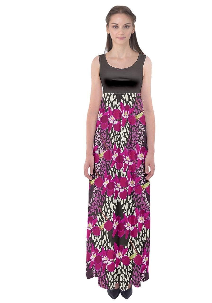 e213b45dad34c CowCow Womens Summer Boho Retro Funny Bird Palm Trees Beach Design Empire  Waist Long Maxi Dress, XS-5XL