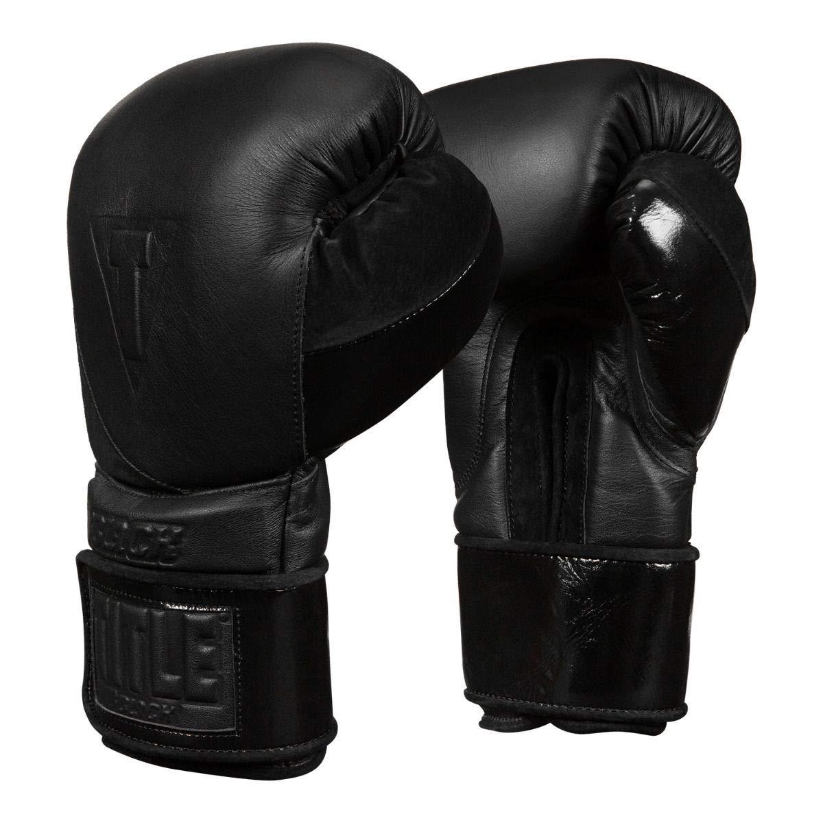 Title Boxing トレーニンググローブ ブラック 2.0 ブラック 16 oz