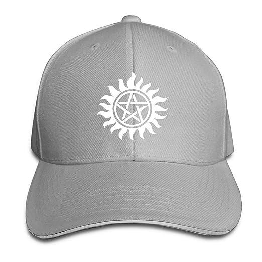 ZETAPS Supernatural Symbol Adult Twill Baseball Adjustable Hat Caps Visor  Caps acb8aecbbbe