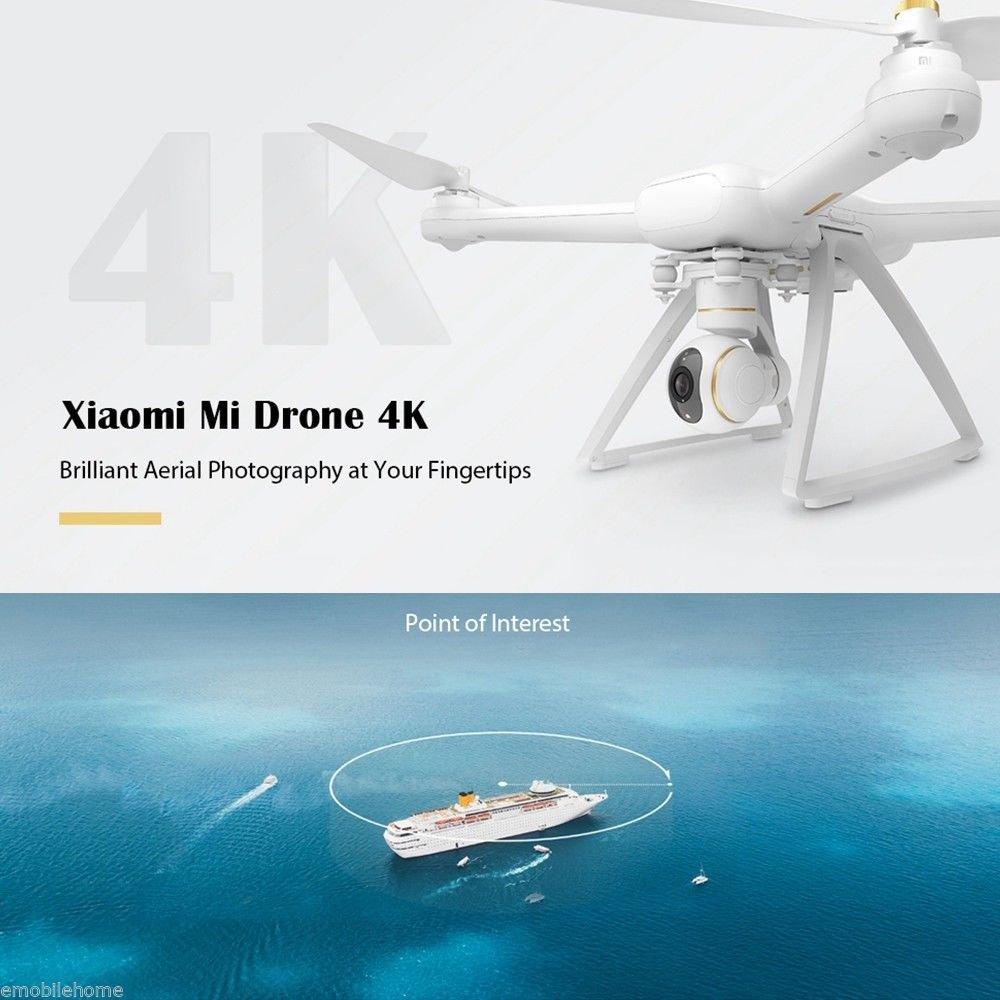 Xiaomi Mi Drone - Dron cuadricóptero, vídeo 4K, WiFi, control ...
