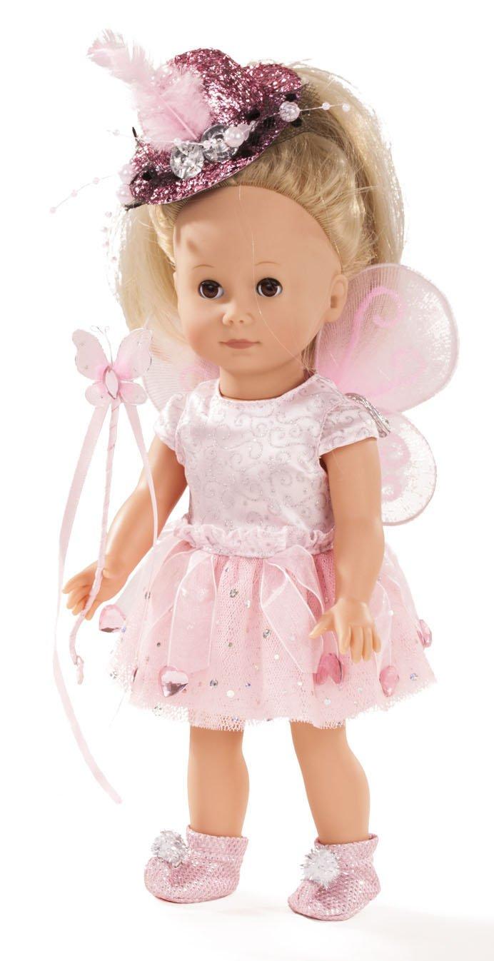 Götz 1613027 Just Like me - - - Paula die Fee Puppe - 27 cm große Stehpuppe mit Langen blonden Haaren und braunen Schlafaugen - für Kinder ab 3 Jahren 481dfb