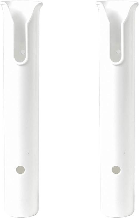 4Pcs Portable Plastic 12/'/' Boat Fishing Rod Marine Tube Rod Holder Chair Mount