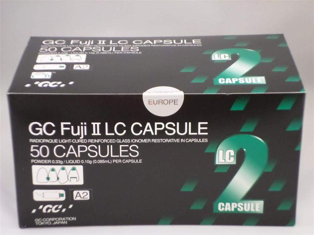 GC Corp. GC Fuji II LC Capsules A2-50/BX
