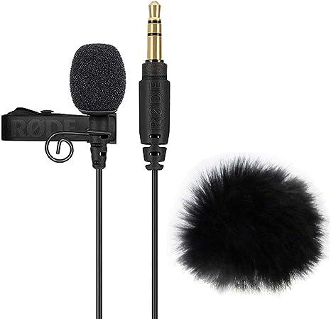 Rode - Micrófono de solapa Lavalier Go y protector para el viento de pelo WS05: Amazon.es: Instrumentos musicales