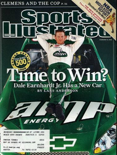 Dale Earnhardt Jr Light - Sports Illustrated February 18, 2008