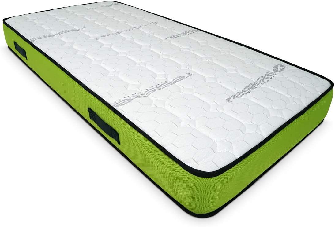 Duérmete Online Duérmete-Colchón Artiflex HR para Cama Articulada (Cara Invierno-Verano diferenciadas) Fabricado en ESPAÑA, Muy Transpirable, 80x200