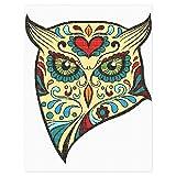 Owl Head Illustration Needlepoint Kit