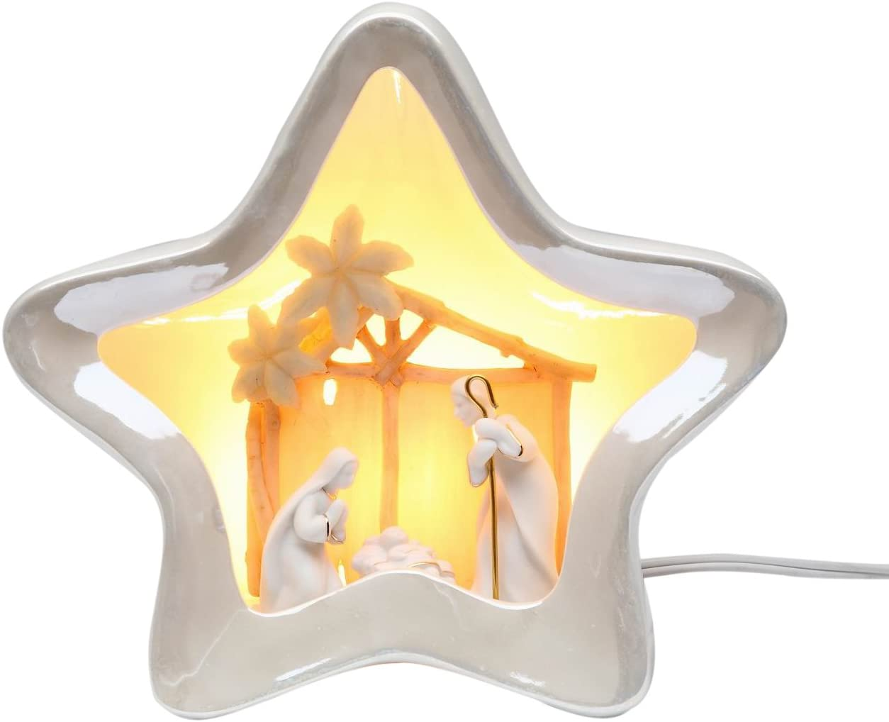 Appletree Design Angel With Hope Night Light Includes Cord 9-1//2-Inch Tall