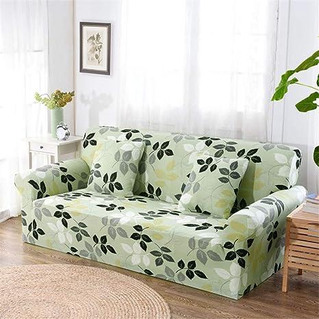 Amazon.com: Funda de sofá elástica Sp ex ajustada para sofá ...