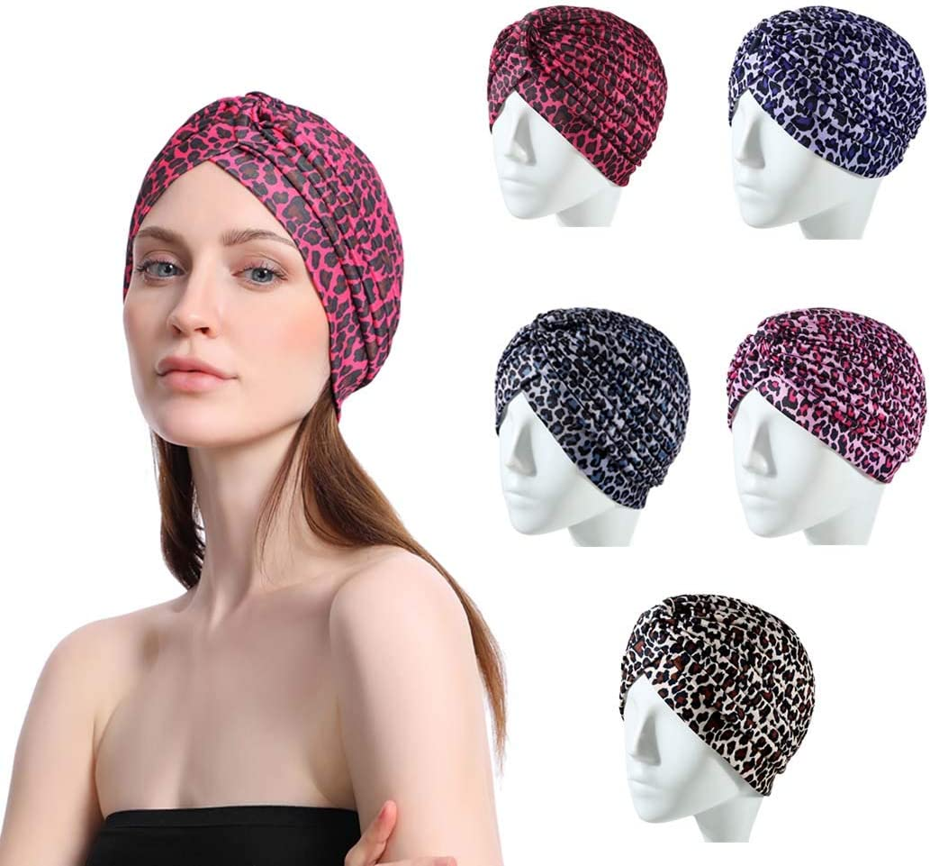 Sethain Boho Headwrap Stretchy Headband Criss Cross Hairband Turban Cap Yoga Head Band for Women and Girls