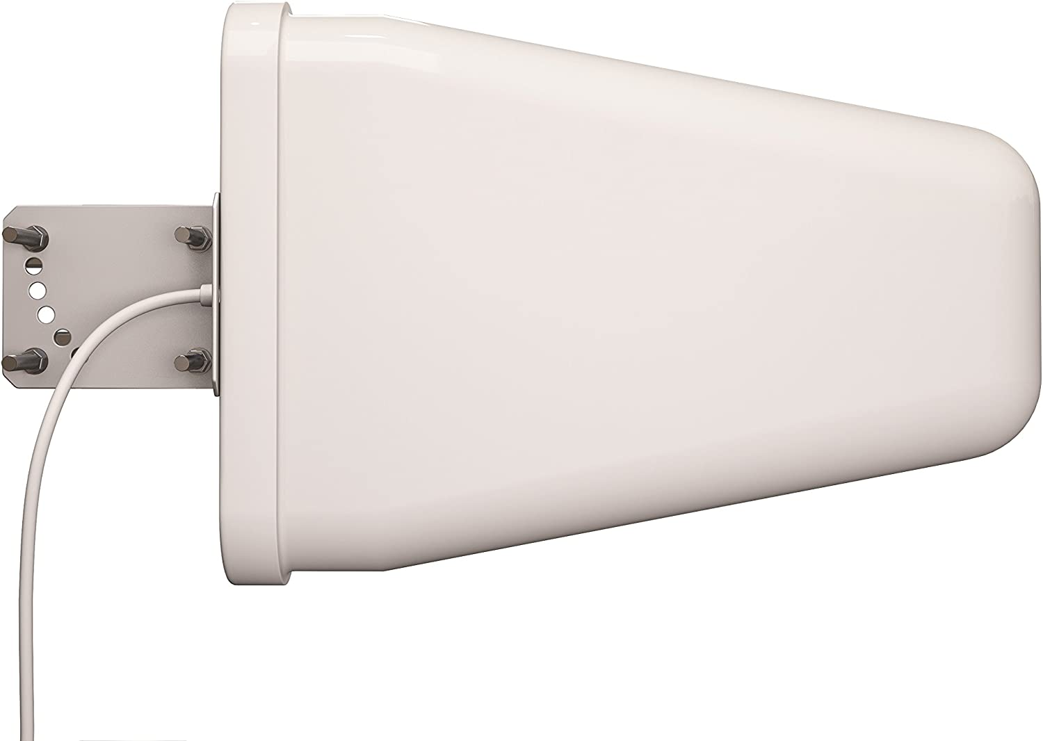 Tupavco TP514 Yagi Directional Antenna 3G/4G/LTE 9dBi 806MHz-960MHz and 1.7-2.5GHz 2FT Cable w/ 2FT RP-SMA Male Cable to TS-9 Adapter - Cell Phone Signal Booster Log Periodic Cellular