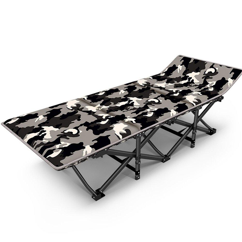 Folding Chairs ZR - Silla reclinable Plegable de Camuflaje para el Almuerzo, Cama Nuca, Silla de Playa, Cama de acompañamiento, Silla portátil para Adultos
