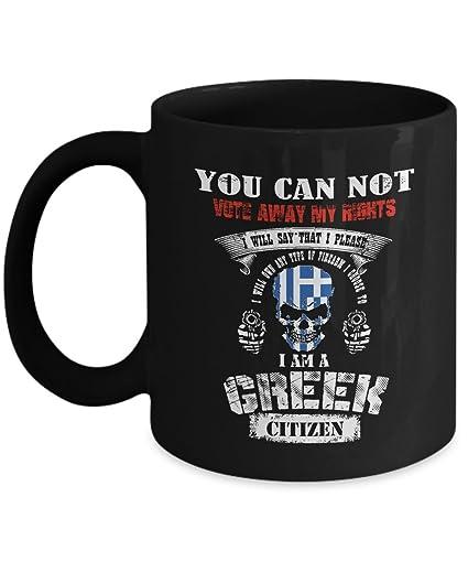 Amazoncom Greece Mug Greek Coffee Flag Mug Cute Gifts For Your Dad