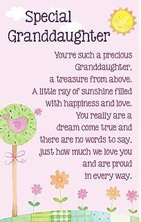 Heartwarmers Special Granddaughter Keepsake Card Envelope K152E