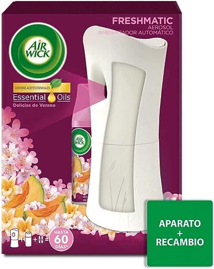 Oferta amazon: Air Wick Ambientador Freshmatic Completo Delicias de Verano Aparato
