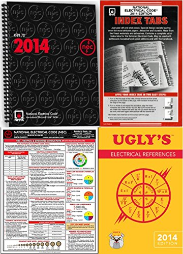NFPA 70: National Electrical Code, NEC, Spiral Bound, 2014 Edition, NFPA Package by NFPA-BB-J