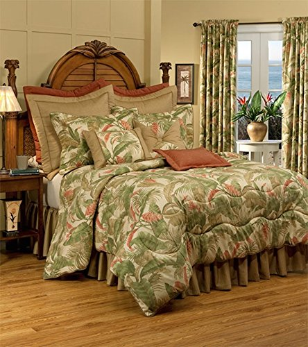 Thomasville Comforter Standard - La Selva Natural Queen 4 Piece Comforter Set by Thomasville, 15