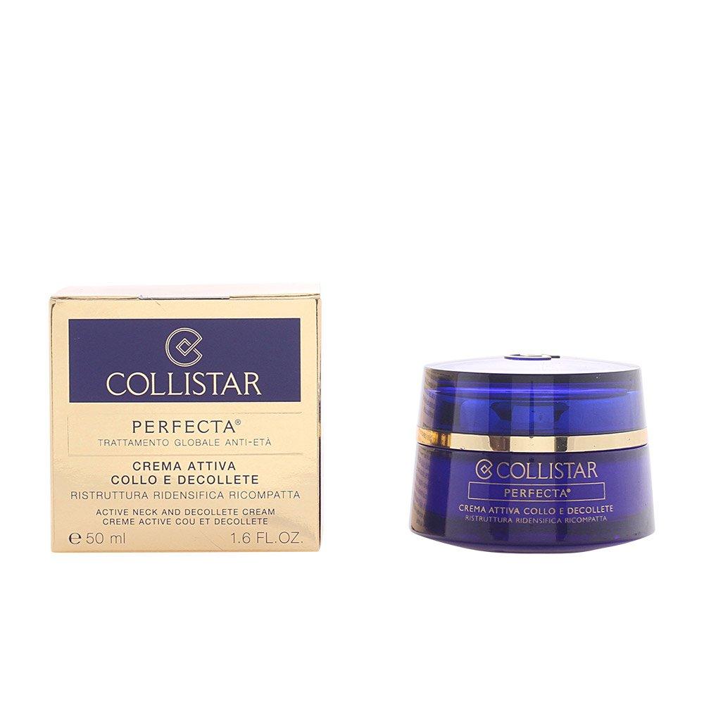 Collistar Perfecta - Crema Attiva Collo Décolleté Ristruttura Ridensifica Ricompatta, 50 ml 8015150245203