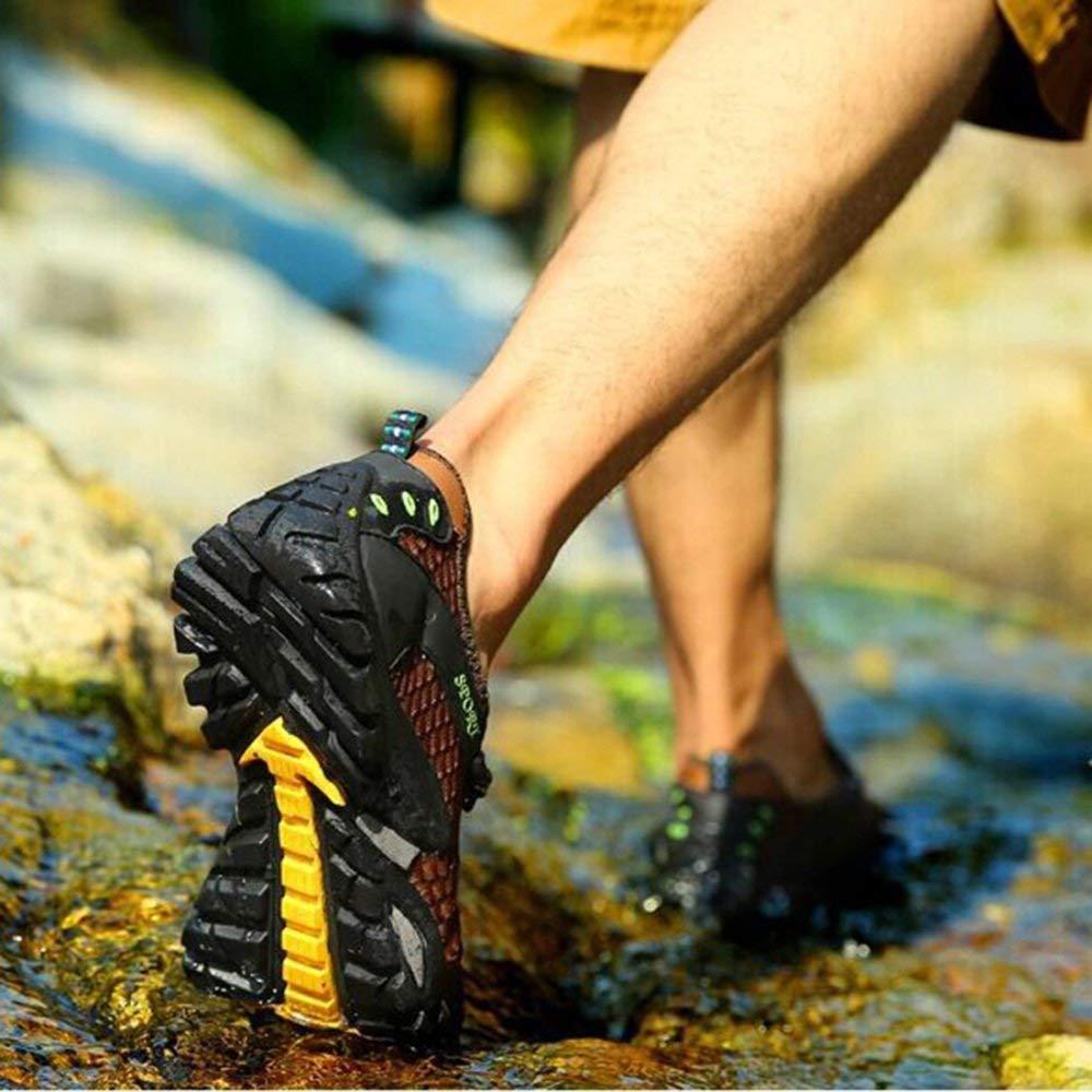 Fuxitoggo Hohe Qualität Sommer Männer Und Frauen Sommer Qualität Outdoor Sandalen Wasser Schuhe Amphibious Beach Schuhe Casual Sportschuhe Wanderschuhe Verbesserte Version (Farbe   Braun, Größe   40EU) e8e4dc