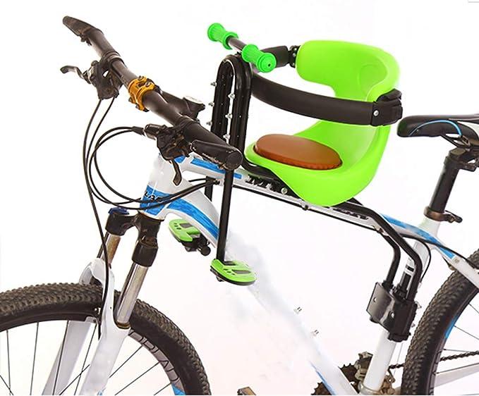 YXZN Asientos Delanteros para niños en Bicicleta Asientos para ...