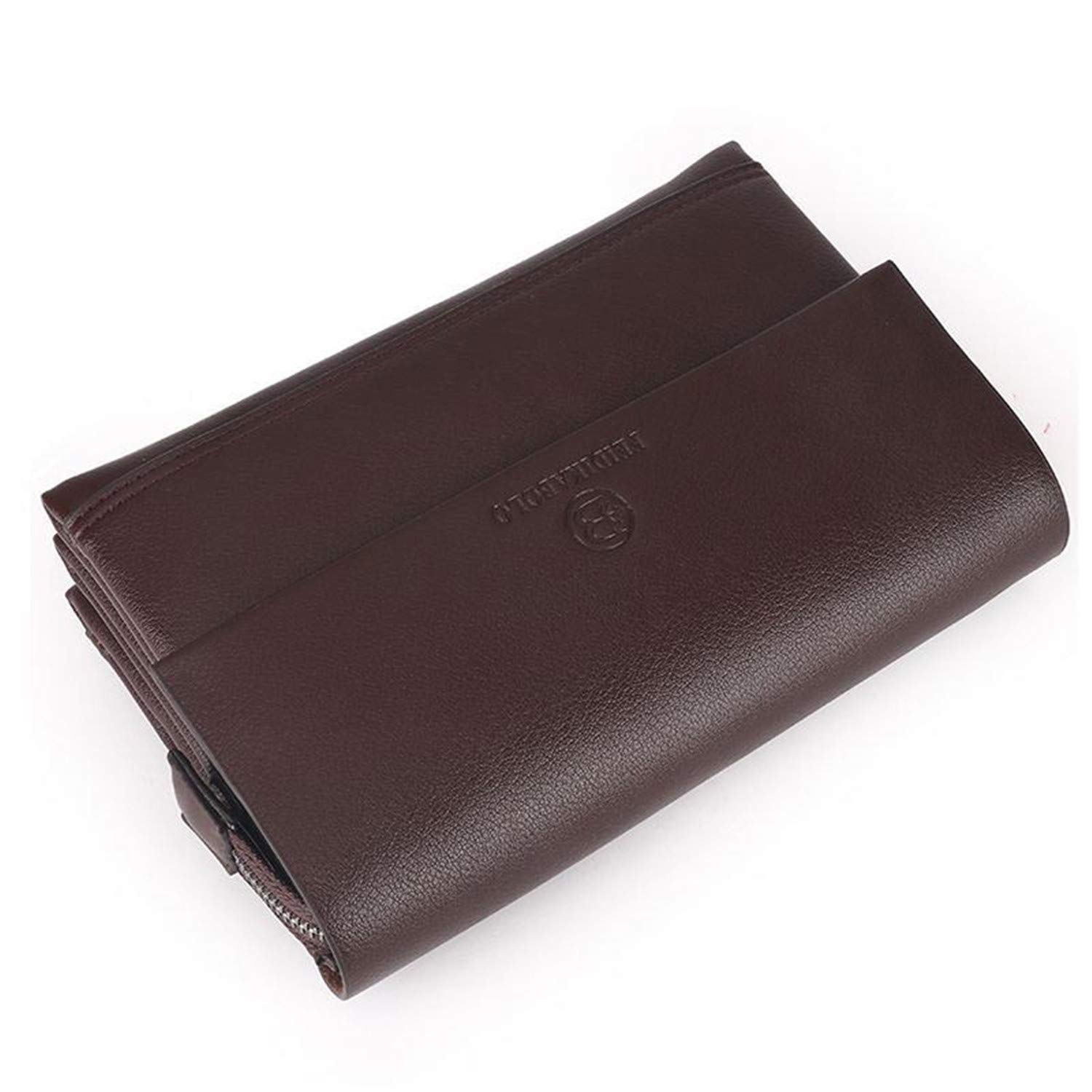 Amazon.com: Wallet Men Clutch Bag Leather Purse carteras ...