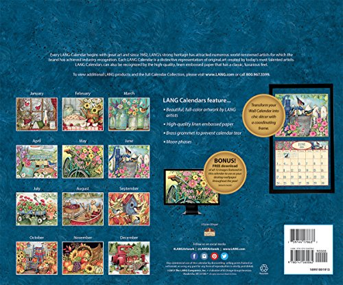 LANG - 2018 Wall Calendar -