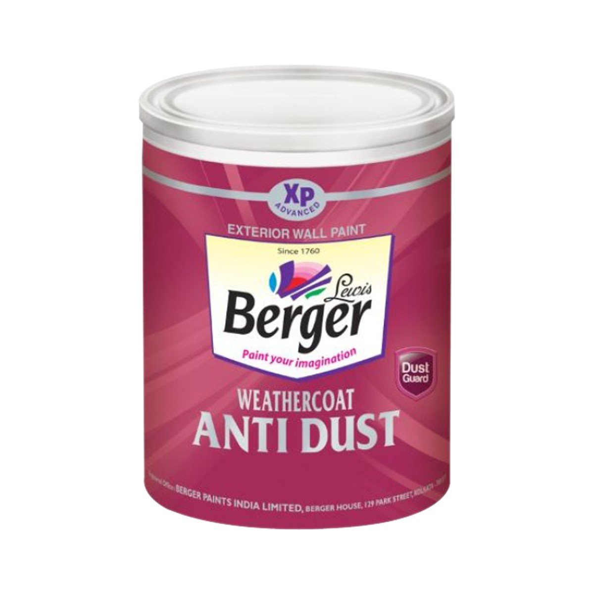 Generic Berger Paint Weathercoat Anti Dust 1Ltr. - Bright Green ...