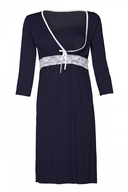 Happy Mama Women's Maternity Nursing Breastfeeding Nightdress Shirt Gown. 255p pregnight_255