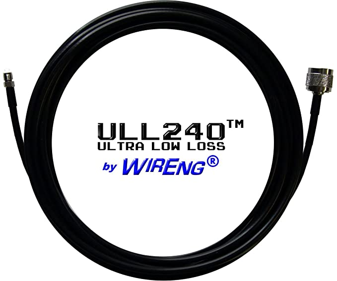 ULL240™ Ultra Low Loss Coaxial Cable with FME-Female and N-Male Connectors