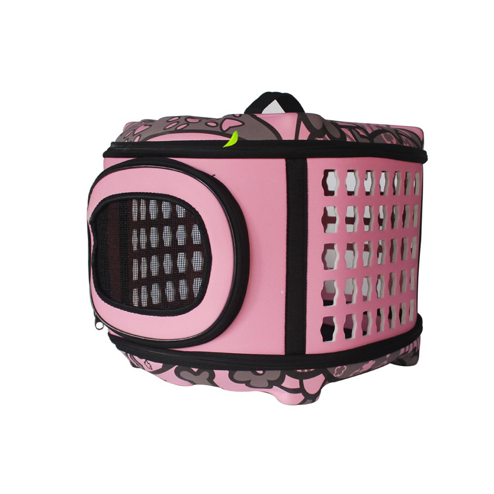 1 WX-WX48 WW-XX Portable Pet Package Dog Backpack Cat Pack Dogs Go Out Carrying Case Teddy Dog Travel Bag Cat Cage Pet Supplies Dog Bags Cat Bag Luxury (color   01)
