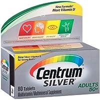 Centrum Multivitamin/Multimineral, Tablets, Better Value 80 ct (Pack of 6)
